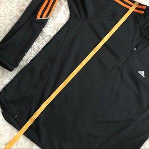 adidas Shirts - Adidas Zip Up Navy ClimaLite Top